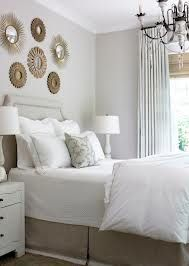 Master bedroom color ideas. Light grey will work with lots of white accents.