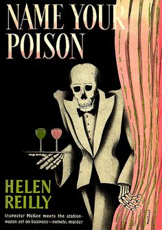 NAME YOUR POISON--Inspector McKee meets the station-wagon set on business--namely, murder