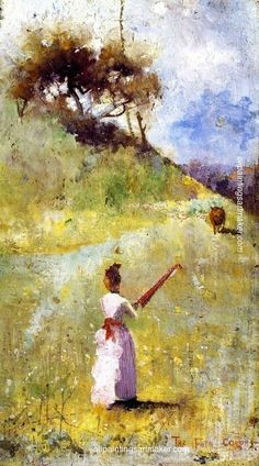 Charles Conder The Fatal Colours, painting Authorized official website