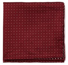 RIVINGTON DOTS - BURGUNDY