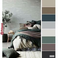 Master bed/bath home bedroom colour palette, bedroom colors, home decor Bedroom Inspo Grey, Bedroom Green, Bedroom Neutral, Warm Bedroom Colors, Neutral Bedrooms, Master Bedrooms, Bedroom Colour Palette, Beige Color Palette, Gray Bedroom Color Schemes