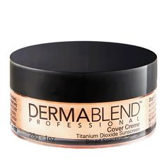 DERMABLEND!!!  The best-selling foundation! Provides the ultimate full coverage for up to 16 hours of consistent color wear when worn with Setting Powder. Glides on evenly, leaving skin feeling velvety smooth. Never cakey or masky.  Dermatologist tested. Allergy tested. Non-comedogenic. Non-acnegenic. Fragrance free. Sensitive skin tested