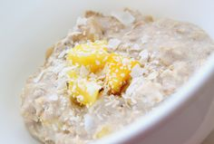 Coconut Pineapple Overnight Oats