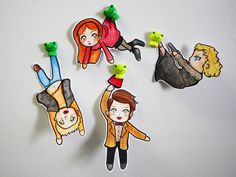 [DOCTOR WHO] Paper Children ! with Eleven - The 11th doctor, Amy Pond, Rory Williams, River Song