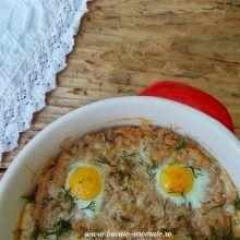 tartă Dukan cu ton şi ouă de prepeliţă Cheeseburger Chowder, Eggs, Breakfast, Morning Coffee, Egg, Egg As Food