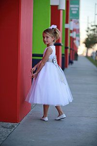 Flower Girl Dresses - Flower Girl Dress Style 2772-BUILD YOUR OWN DRESS! Choice of 139 Sash and 51 Flower Options!