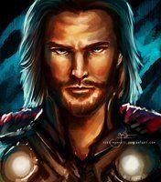 Thor god of thunder.