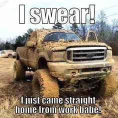"DieselTees- ""I swear I just came straight home from work babe!"" meme 