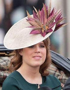 Princess Eugenie, June 11, 2016 in Vivien Sheriff | Royal Hats