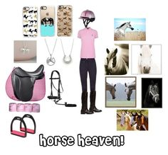 """""""Horse set #1"""" by ella-12-806 ❤ liked on Polyvore featuring CO, Polo Ralph Lauren, Frye, Natural Curiosities, Casetify, Pottery Barn, West Elm, WALL, Nest and Tiffany & Co."""