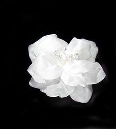 Bridal Hair Accessory. Silk Flowers for Hair  by flowershair, $35.00