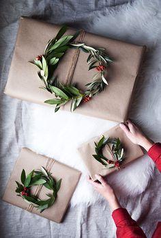 Weihnachtsgeschenke einfach schön verpacken