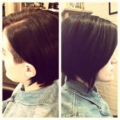 Haircut by Kristen Linares http://www.kristenlinares.com