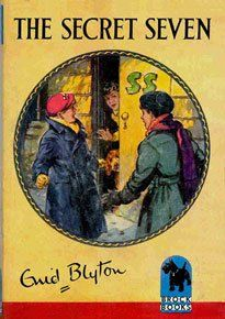 Another great series of books on my shelf Enid Blyton