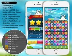 """Check out new work on my @Behance portfolio: """"Mobile Game GUI Pack no1"""" http://on.be.net/1PCzp8o"""