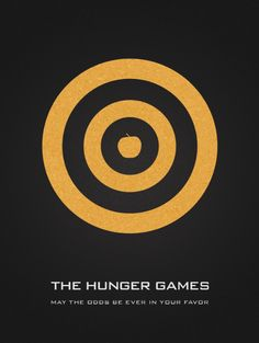 """""""The Hunger Games"""" by Vincent Gabriele.  http://minimalmovieposters.tumblr.com/tagged/the-hunger-games"""