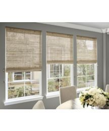 Best blinds for sunrooms shutter blinds sunrooms and window for Smith and noble natural woven shades