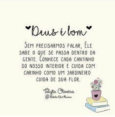 Ele é Deus I Love You, My Love, Gods Love, Christianity, Thoughts, Memes, Quotes, Positive Thoughts, Word Of Faith