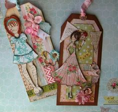 julie nutting | come play with julie nutting s new stamp line with prima you will make ...