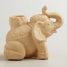 Sitting Elephant Decor