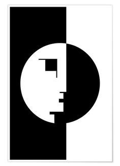 Bauhaus logo created in 1922 by Oskar Schlemmer Art Bauhaus, Bauhaus Logo, Design Bauhaus, Bauhaus Textiles, Cool Poster Designs, Design Poster, Logo Design, Graphic Design, Design Design