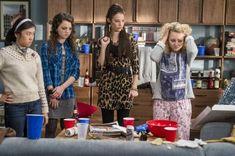 AnnaSophia Robb, Chloe Bridges, Ellen Wong, and Stefania LaVie Owen in The Carrie Diaries (2013)