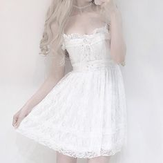 Summer dress new dress women Korean fresh sweet cute lace stitching high waist was thin sexy dress-in Dresses from Women's Clothing on AliExpress Lace Dresses, Cheap Dresses, Sexy Dresses, Casual Dresses, Dresses For Work, Summer Dresses, Elegant Dresses, Formal Dresses, Wedding Dresses