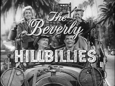 THE BEVERLY HILLBILLIES (1962-1971, CBS, USA) I'm not going to lie, I enjoyed the hell out of this show as a kid. When Jethro sliced the cake and took all of it but the small slice, my funnybone was tickled. And there was Ellie Mae, a hormone hastener of her day for young lads. I think the Ballad of Jed Clampett theme song is overrated, though, and prefer the Flatt & Scruggs instrumental at the outro. Here we have both. (KevinR@Ky)