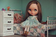 Custom blythe doll OOAK Linda by IulianiaDolls on Etsy