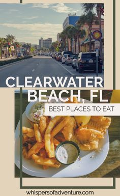 Clearwater Beach, FL | A guide to all the good spots to check out, while visiting Clearwater Beach. #traveltips #travelfoodie #clearwaterbeach #floridatravel