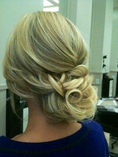 hair ideas for Dana's wedding