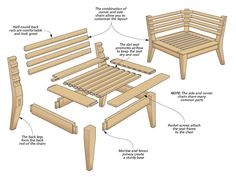 42 trendy ideas for outdoor furniture diy seats fit