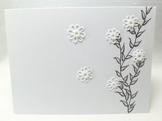 Stationery with Tatted Flowers Blank card for by SnappyTatter