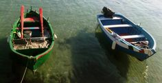 vissersbootjes in San Vito, Apulia