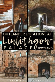 Looking for all the Linlithgow Palace Outlander locations and scenes in Scotland? Let me take you on a tour of Wenworth Prison Scotland Tours, Scotland Travel, Scotland Trip, Outlander Locations, Wentworth Prison, Edinburgh City, Outlander Tv Series, Mary Queen Of Scots, Filming Locations