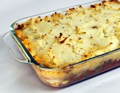 Alton Brown's Shepherd's Pie: I've always been a fan of shepherd's pie — a cottage pie containing ground shepherd. In the event that a shepherd is not available, mutton or lamb may be used.