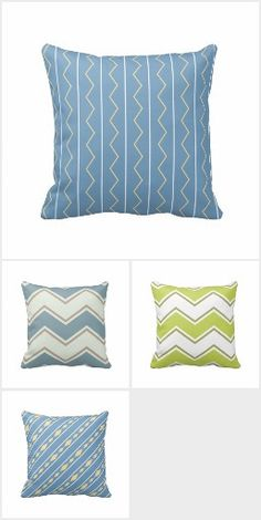 Fun and colorful throw pillows for your home.