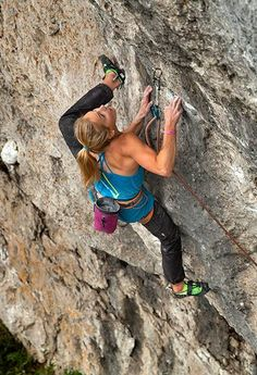 Heel Hook!! Sasha Digiulian, photo by Jensen Walker