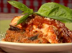Get this all-star, easy-to-follow Eggplant Parmesan recipe from Throwdown with Bobby Flay.