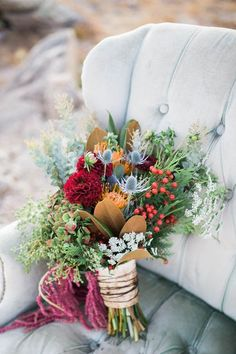 Floral Arrangements. Westlyn by Maggie Sottero featured in Echo Lake Colorado Wedding Inspiration Shoot | 432 Photography