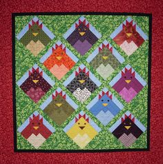 KES Quilts: Chickens!