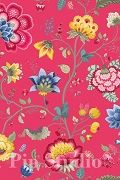 PiP Floral Fantasy Raspberry wallpaper | PiP Studio ©