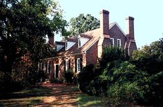 George Washington birthplace at Pope's Creek Estate near present-day Colonial Beach in Westmoreland County, Virginia.