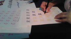 Curso de Lettering 9. H mayúscula - YouTube