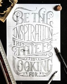 Be the inspiration the thief is looking for