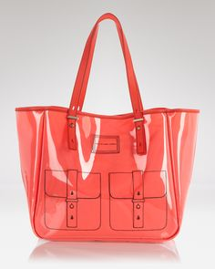 MARC JACOBS MARC BY Tote - Werdie Clear Solids baa6d43a43c9