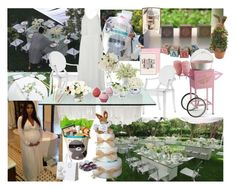 """""""Kim Kardashian's baby shower for North 'Nori' West."""" by lerato ❤ liked on Polyvore featuring interior, interiors, interior design, home, home decor, interior decorating, Uncle Goose, Kartell, CO and 3 Sprouts"""