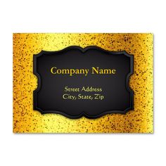 SOLD 5 Chubby Business Cards Glitter Graphic Gold! #zazzle #chubby #business #cards #glitter #graphic #gold http://www.zazzle.com/chubby_business_card_glitter_graphic_gold-240060415885082058