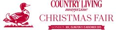 So looking forward to the Country Living Christmas Fair '15 in London!