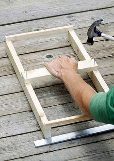 Nikkaroi astiankuivausteline mökille | Meillä kotona Tools, Instruments